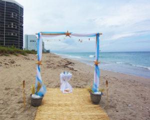 Beach Wedding Archway